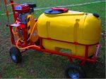 Opryskiwacz spalinowy wózkowy POLEXIM200, 6,5 HP, 200L - Obraz2