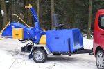 Rębak tarczowy z silnikiem Diesla 4 cylindry: moc 40 KM. - Obraz2