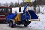 Rębak tarczowy z silnikiem Diesla 4 cylindry: moc 40 KM. - Obraz1