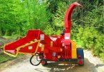 Rębak tarczowy na podwoziu leśny, Moc silnika 65HP ( 4 cylindry ).Wersja PROFI. - Obraz1
