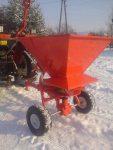 Rozsiewacz soli, piasku, nasion dla ATV, ciągników itp - Obraz6