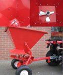 Rozsiewacz soli, piasku, nasion dla ATV, ciągników itp - Obraz5