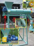 Kondycjoner z regulowaną płynną możliwością podawania surowca i magnetyzerem. - Obraz2