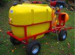 Opryskiwacz spalinowy wózkowy POLEXIM200, 6,5 HP, 200L - Obraz1
