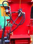 Rębak tarczowy na podwoziu leśny, Moc silnika 65HP ( 4 cylindry ).Wersja PROFI. - Obraz5