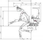 MINIKOPARKA SAMOBIEŻNA MB-1500 WRAZ Z OSPRZĘTEM HYDROSTATYKA - Obraz5