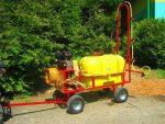 Opryskiwacz+ zamgławiacz spalinowy. Wózkowy model POLEXIM200 - Obraz1
