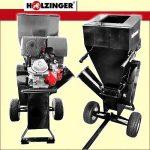 Rębak rozdrabniacz HOLZINGER napędzany silnikiem 13KM, 1 nóż - Obraz1