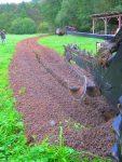 Koparka łańcuchowa napędzane z ciągnika rolniczego 220 cm - Obraz4