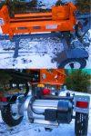 ŁUPARKA HYDRAULICZNA Double Action: nacisk 20/17t, 5,5 kW - Obraz1