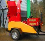 Rębak tarczowy na podwoziu leśny, Moc silnika 65HP ( 4 cylindry ).Wersja PROFI. - Obraz8
