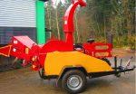 Rębak tarczowy na podwoziu leśny, Moc silnika 65HP ( 4 cylindry ).Wersja PROFI. - Obraz4