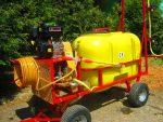 Opryskiwacz+ zamgławiacz spalinowy. Wózkowy model POLEXIM200 - Obraz2