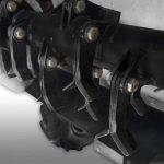 Ciągnik jednoosiowy z kosiarką bijakową, moc silnika 8 KM. Szerokość koszenia 60cm. Skrzynia biegów. - Obraz5