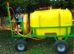 Opryskiwacz spalinowy wózkowy POLEXIM200, 6,5 HP, 200L - Obraz3