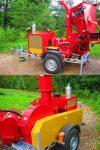 Rębak tarczowy napędzany silnikiem Diesla 4 cylindry, 65 kM - Obraz4