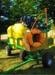Opryskiwacz spalinowy wózkowy POLEXIM200, 6,5 HP, 200L - Obraz4