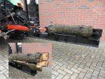 Łuparka hydrauliczna ciągnikowa. Nacisk 14 t, 105 cm - Obraz1