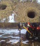 Wiertnica ciągnikowa. Napęd z WOM traktora, 15-50 mm - Obraz2