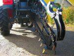 Koparka łańcuchowa napędzane z ciągnika rolniczego 160 CM - Obraz1