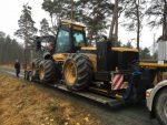 Naczepa do transportu maszyn leśnych - Obraz7