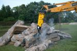 Młot hydrauliczny wyburzeniowy TUR G30S 445kg NOWY GWARANCJA - Obraz1