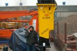 Młot hydrauliczny wyburzeniowy TUR G120S 2890kg NOWY GWARANCJA - Obraz1