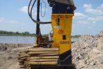 Młot hydrauliczny wyburzeniowy TUR G80S 1816kg NOWY GWARANCJA - Obraz1