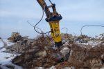 Młot hydrauliczny wyburzeniowy TUR G50S 928kg NOWY GWARANCJA - Obraz1