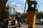 Młot hydrauliczny wyburzeniowy TUR G70S 1240kg NOWY GWARANCJA - Obraz3