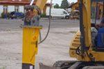 Młot hydrauliczny wyburzeniowy TUR DB G10S 216 kg ECONO - Obraz1