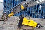 Młot hydrauliczny wyburzeniowy TUR G40S 600kg NOWY GWARANCJA - Obraz2