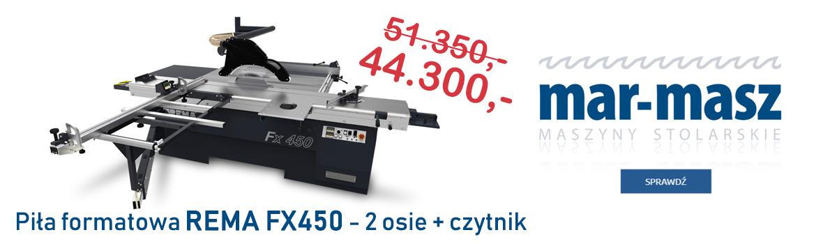 Piła formatowa REMA FX450