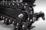 Samobieżna minikoparka łańcuchowa , silnik 15 kM, głębokość kopania 600mm - Obraz4