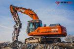 Nowy młot wyburzeniowy hydrauliczny HYDRARAM FX-200 1580 kg - Obraz8