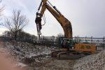 Nowy młot wyburzeniowy hydrauliczny HYDRARAM FX-160 1320 kg - Obraz3