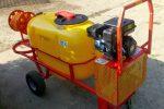 Opryskiwacz spalinowy wózkowy model Polexim 200, pojemność zbiornika 200l, 6,5 kM - Obraz4