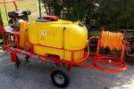 Opryskiwacz spalinowy wózkowy model Polexim 200, pojemność zbiornika 200l, 6,5 kM - Obraz1