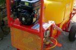 Opryskiwacz spalinowy wózkowy model Polexim 200, pojemność zbiornika 200l, 6,5 kM - Obraz2