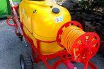 Opryskiwacz spalinowy wózkowy model Polexim 200, pojemność zbiornika 200l, 6,5 kM - Obraz3
