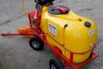 Opryskiwacz spalinowy wózkowy do dezynfekcji , 6,5 kM, zbiornik 200l - Obraz2