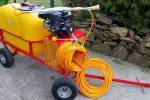 Opryskiwacz spalinowy wózkowy do dezynfekcji , 6,5 kM, zbiornik 200l - Obraz3