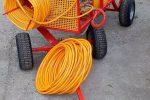 Opryskiwacz spalinowy wózkowy do dezynfekcji , 6,5 kM, zbiornik 200l - Obraz4
