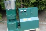 PELLECIARKA, granulator, prasa do pelletu, wydajność do 1100 kg/h, silnik 30 kW - Obraz1