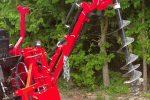 Wiertnica glebowa hydrauliczna, napęd z WOM ciągnika, własny układ hydrauliczny. - Obraz1