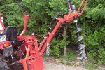 Wiertnica glebowa hydrauliczna, napęd z WOM ciągnika, własny układ hydrauliczny. - Obraz2