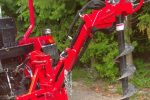 Wiertnica glebowa hydrauliczna, napęd z WOM ciągnika, własny układ hydrauliczny. - Obraz3