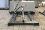 Szufla hydrauliczna do wózka widłowego 1.3 m - Obraz2