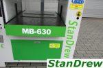 Grubościówka PERFECT MB 630 – wał segmentowy - Obraz7