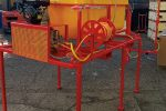 PRZENOŚNY OPRYSKIWACZ SPALINOWY MONTOWANY NA DREZYNĘ, napęd z silnika spalinowego 6,5 kM, pojemność zbiornika 800l, 22 l/min - Obraz5